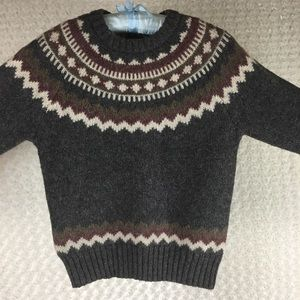 Woolrich Pullover Sweater All Wool Knit Sz M